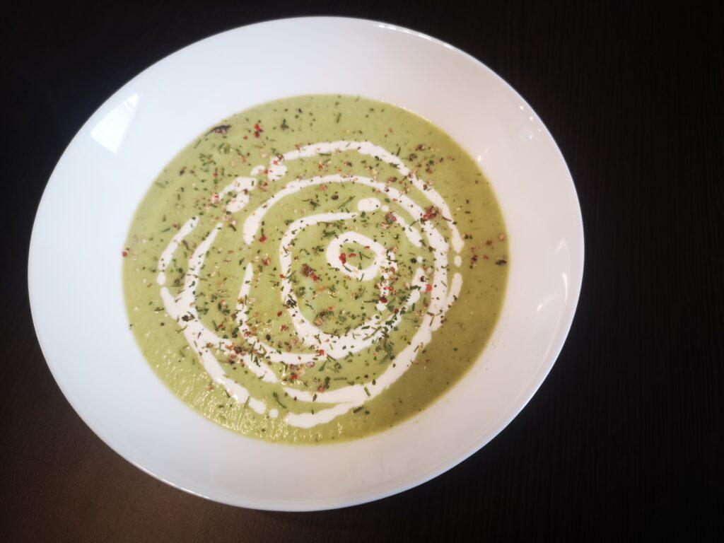 Potaž od brokolija - predlog za serviranje